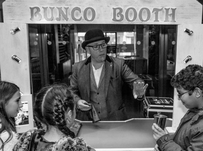 The Bunco Booth